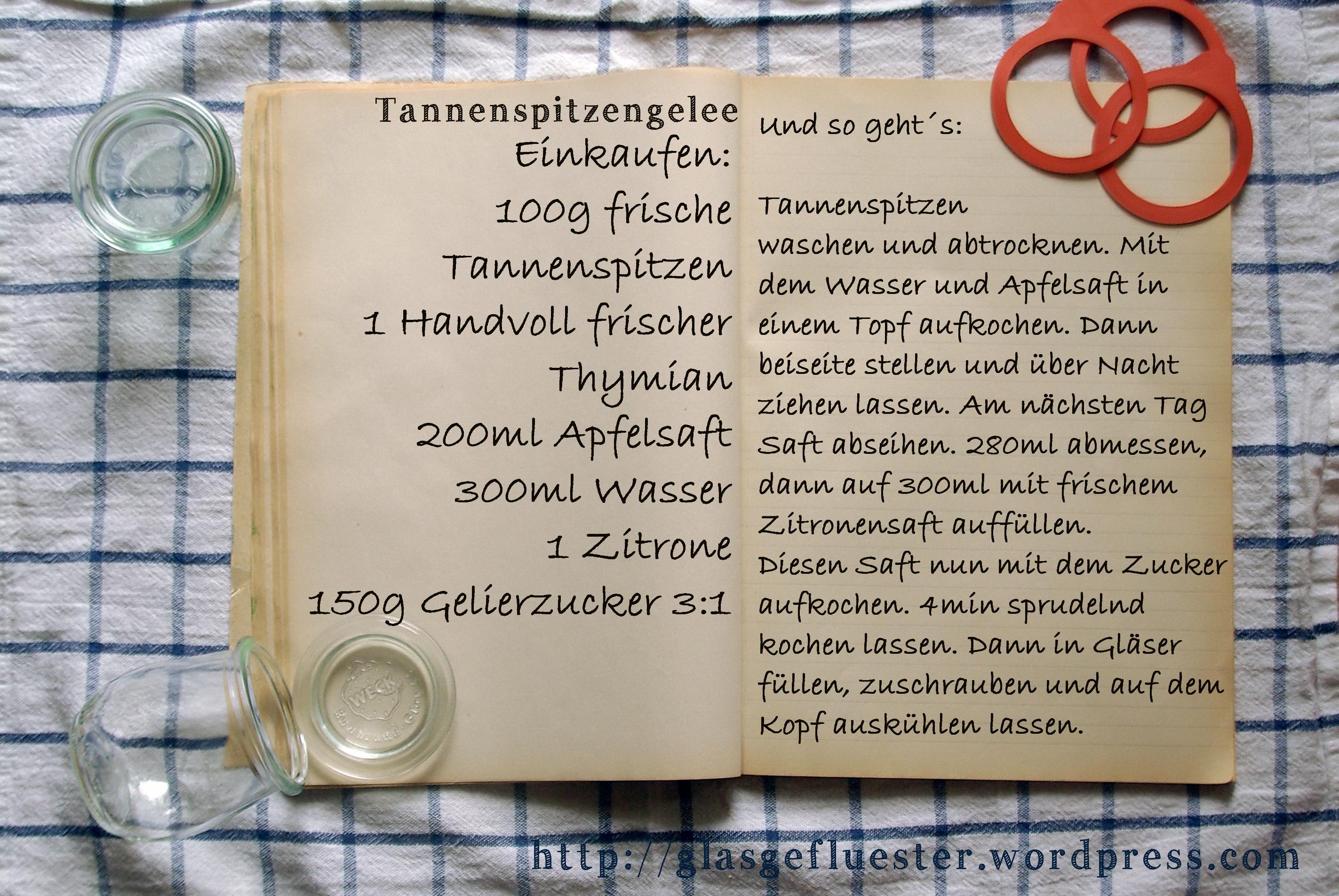 Tannenspitzen glasgefluester - Brot und salz gott erhalts ...