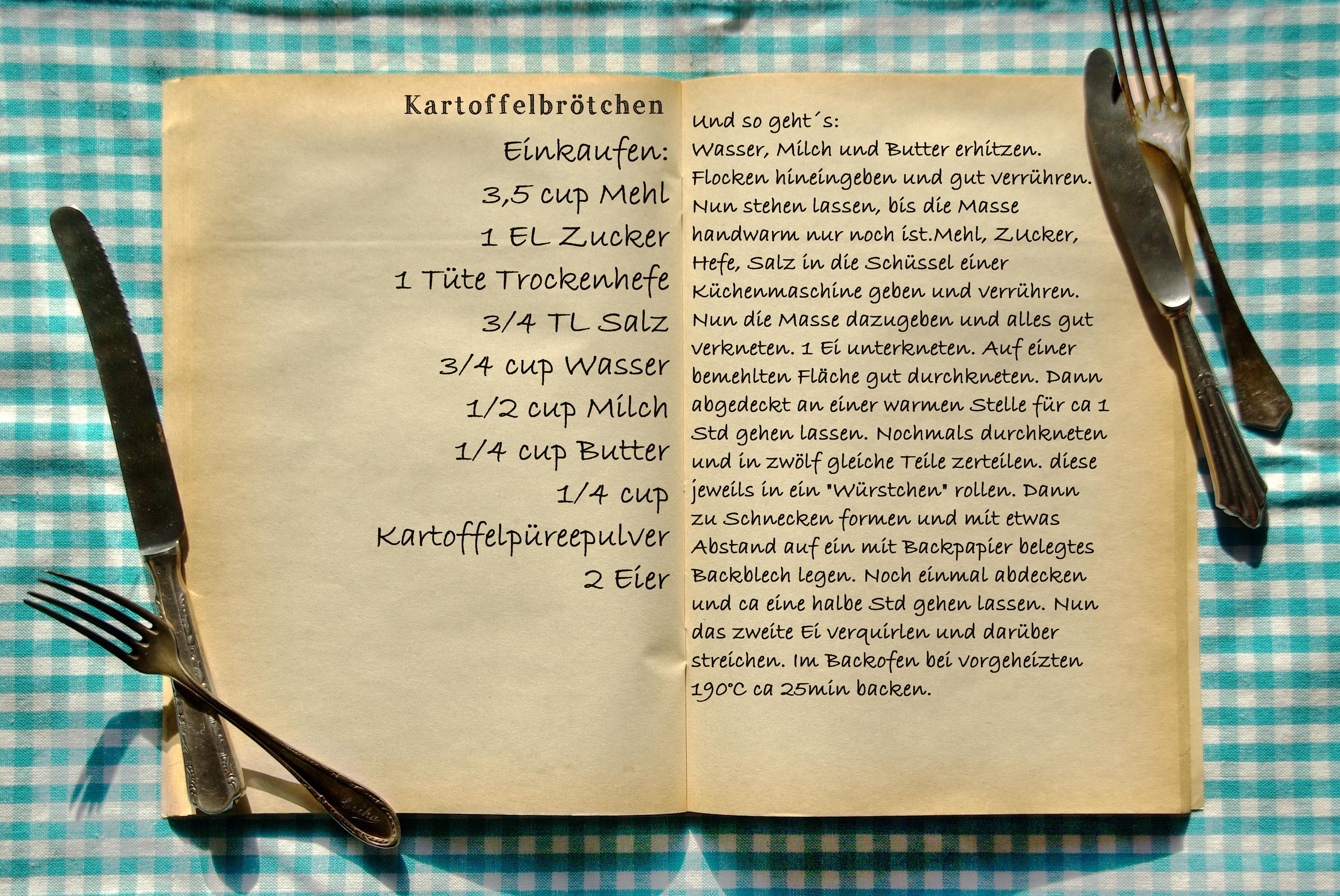 Kochrezept Vorlage | Vorlage und Muster